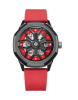 Red/rubber strap