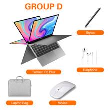 Новейший Teclast F6 Plus ноутбук 13,3 дюйма 8 ГБ ОЗУ 256 Гб ПЗУ вращение на 360 градусов 1920 × 1080 Full HD Windows 10 OS 38000mWh аккумулятор(Китай)
