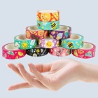 Tape Cheap OEM Logo Custom Cartoon Printed Washi Tape Japanese Masking Kawaii Love Washi Tape