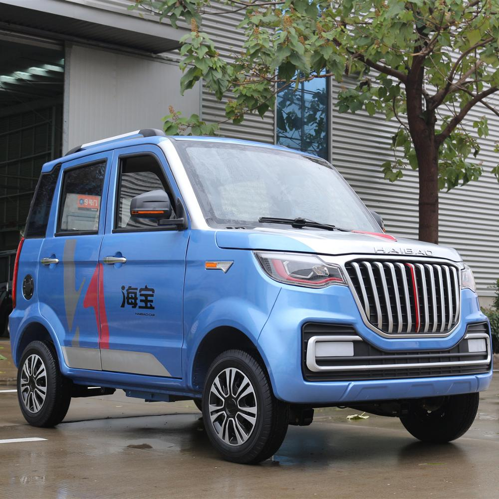 5 seater solar and hybrid new energy car electric vehicle car on hot selling