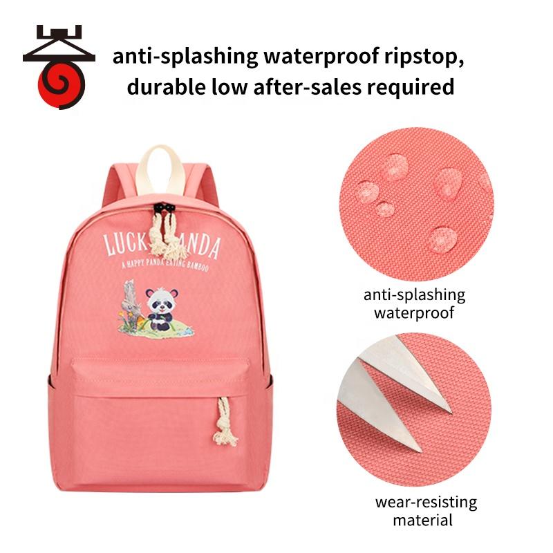 Оптовая продажа 2021, модный милый комплект из рюкзака и сумки из ткани Оксфорд для школьников и студентов gi rls с пеналом, школьные рюкзаки, Китай