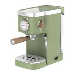 Классическая кофемашина Konka для итальянского эспрессо в стиле ретро, 220 В, 20 бар, капсулы для кофейного порошка, профессиональная кофеварка