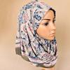 ivory printed jersey hijab