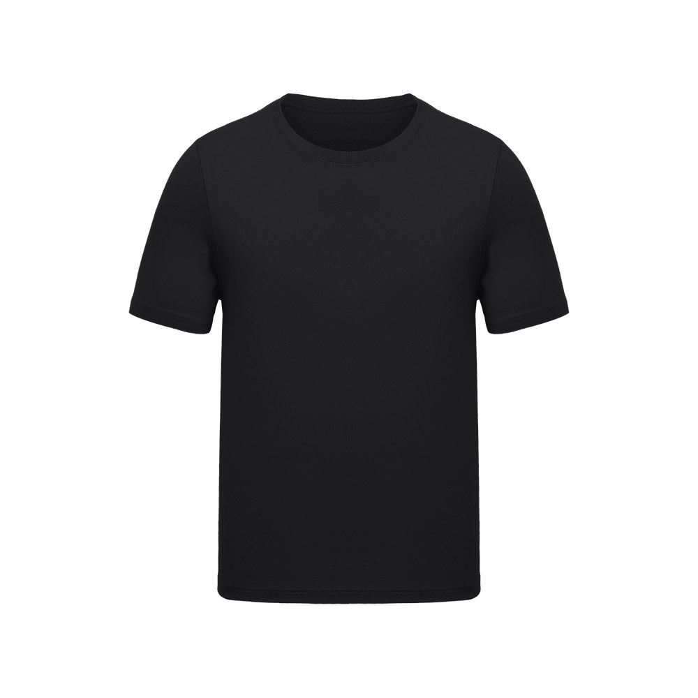 Оптовая продажа, однотонная Детская Повседневная футболка из 100% хлопка с коротким рукавом и принтом логотипа на заказ