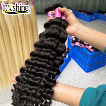 cheap virgin human hair vendors,Exshine human hair bundles,human virgin remy hair wholesale curly raw burmese malaysian hair