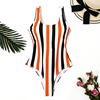 Orange/Black Stripe