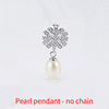 Platinum Pearl pendant - no chain