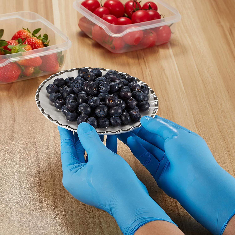 Синие перчатки для осмотра от производителя Xingyu синие/Черные виниловые синтетические одноразовые перчатки нитриловые