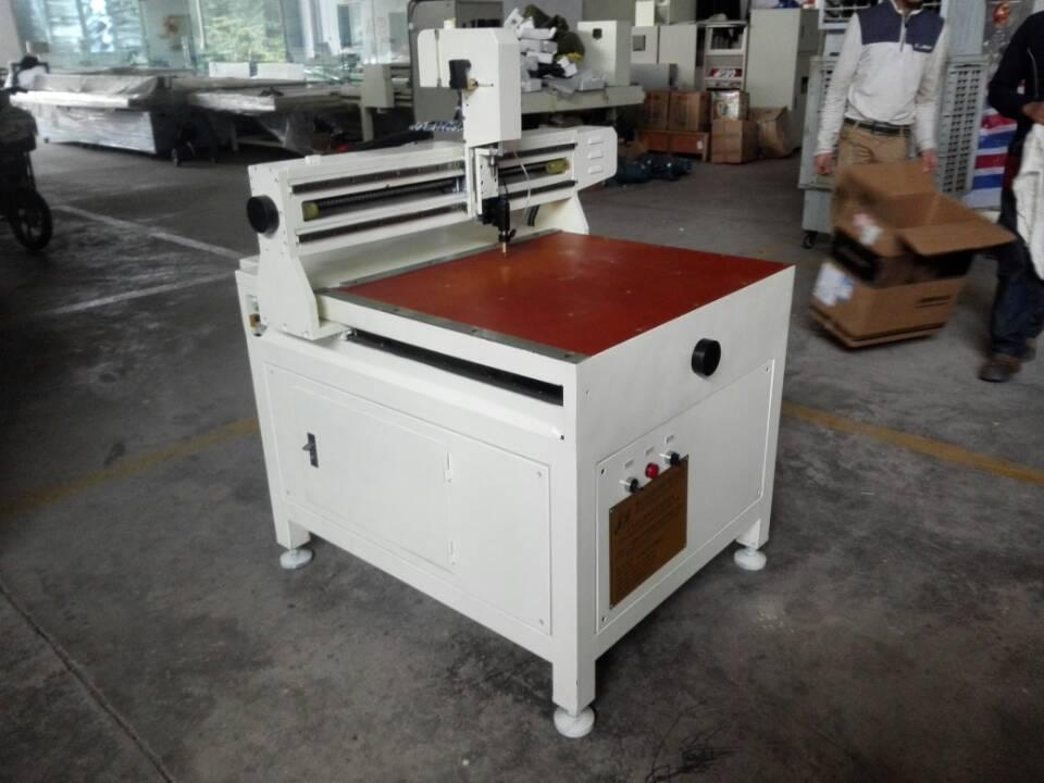 JFQG-6050 Automatic circle oval car mirror shape glass cutting machine