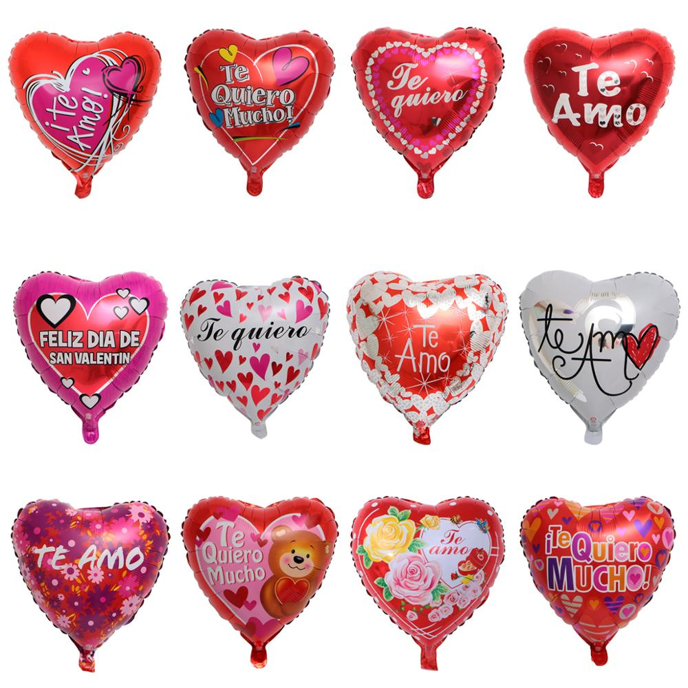 I Love You Heart Shape And Bow Foil Balloon