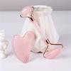 rose quartz Roller massage stick