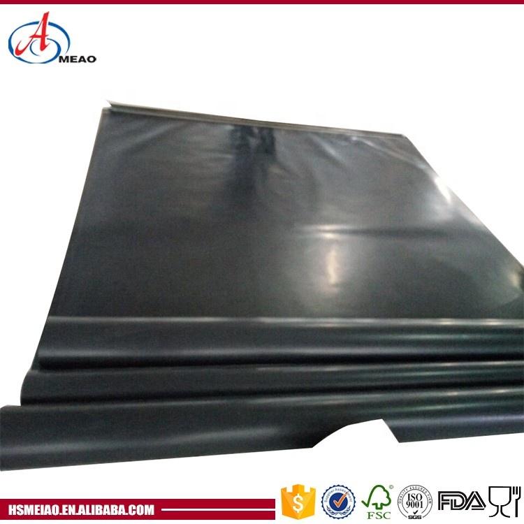 Стекловолоконная ткань с покрытием из ПТФЭ, черная прочная Стекловолоконная ткань