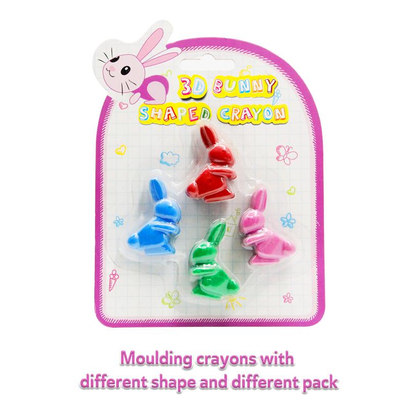 custom animal shape beeswax crayons pack crayons
