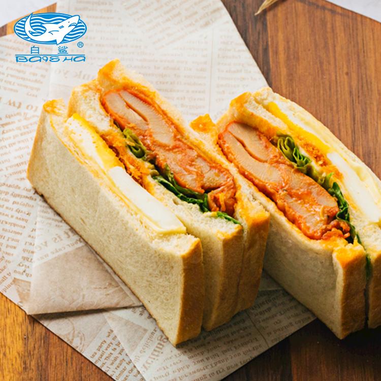 Baisha brand high-gluten wheat flour high-quality household bread flour can make your own sweet bread 500g * 20