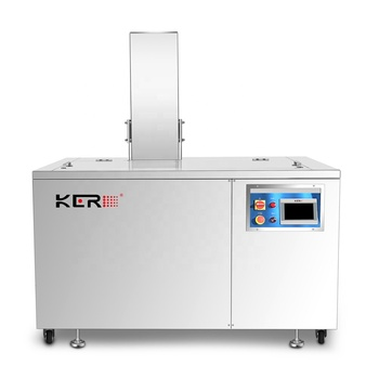 Auto engine parts ultrasonic cleaning machine