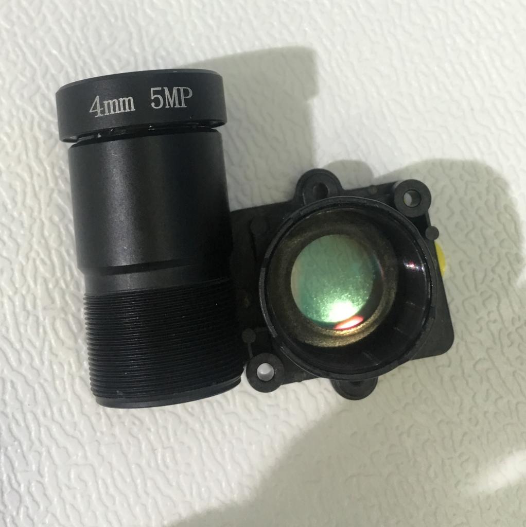 1/2.7' OV2710 5MP 4mm starlight m16 cctv camera lens with  8G  darkfighter F0.95 wide angle 110 degree