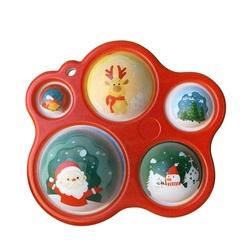 Christmas Series Present Fidget Sensory Toy 5 Fingers Cat Paw Dimple Bubble Board For Kids