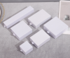 glossy white 9*9*3.2cm
