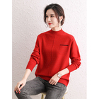 Cashmere Sweater High Quality Knitted Wool Lady Cashmere Plain Pullover Woman Sweater