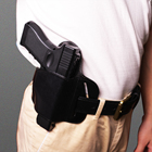 Leather Holster Wholesale High Quality Outdoor Hunting Combat Training Leather Holster Pistol