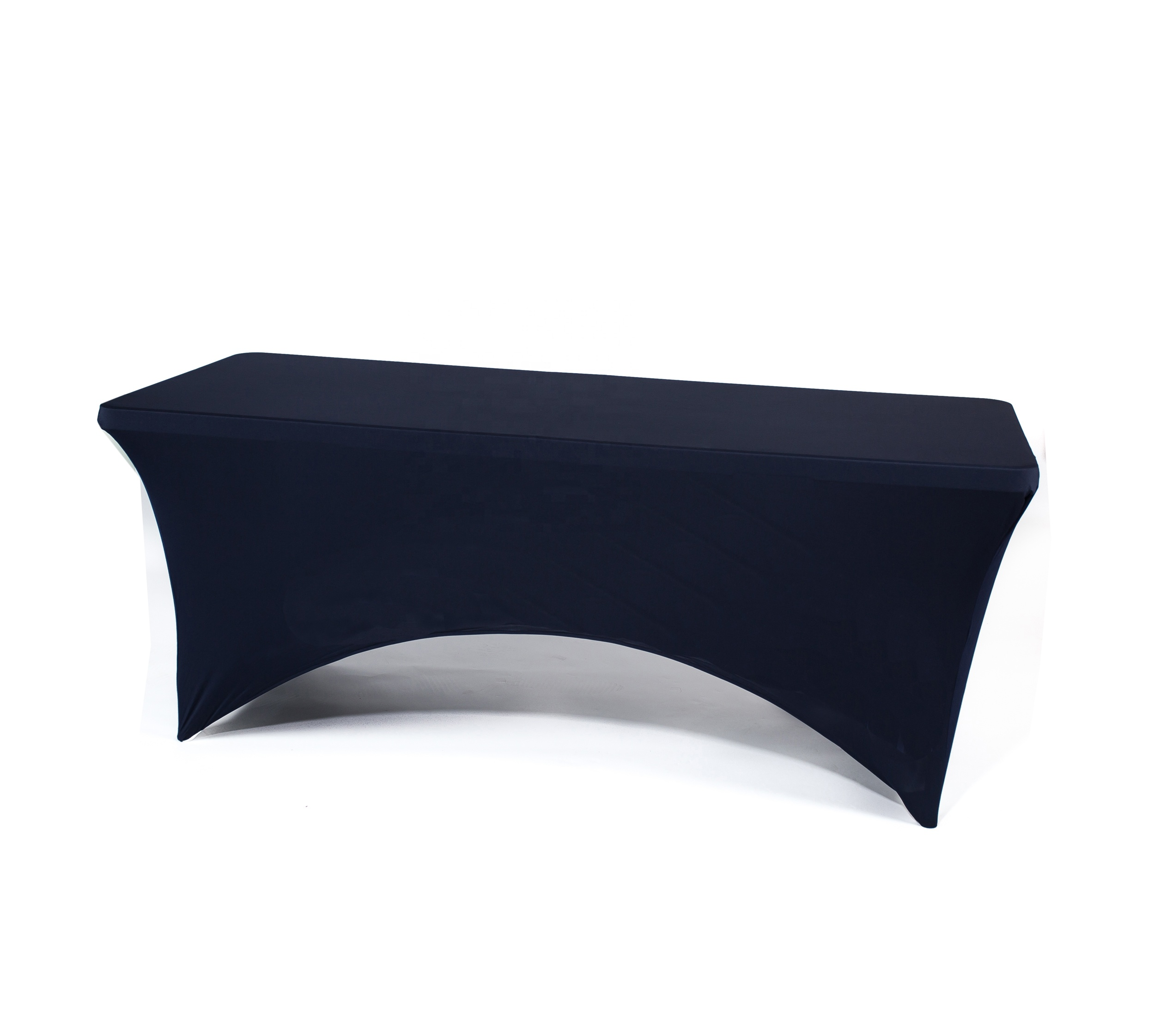 Wedding party 6ft spandex stretch tablecloth table cover