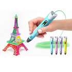 3D Printer pen DIY 3D Pen ABS/PLA Filament Arts 3D Drawing Pen Creative Gift For Kids Design Painting Drawing educational toys B