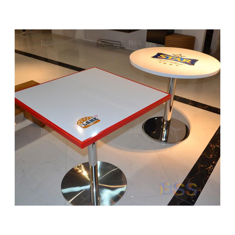 Потрясающая Современная ресторанная мебель Top 30, белый квадратный мраморный стол с 2 стульями для ресторана