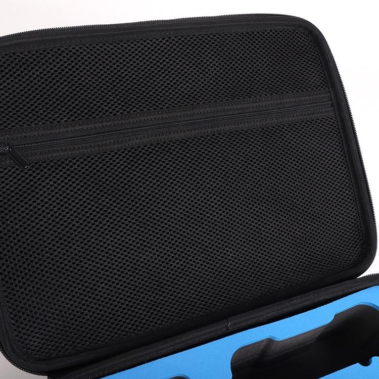 Сделанный на заказ наружный черный портативный жесткий водонепроницаемый чехол EVA для дрона аксессуары для мини-дрона чехол из ЭВА