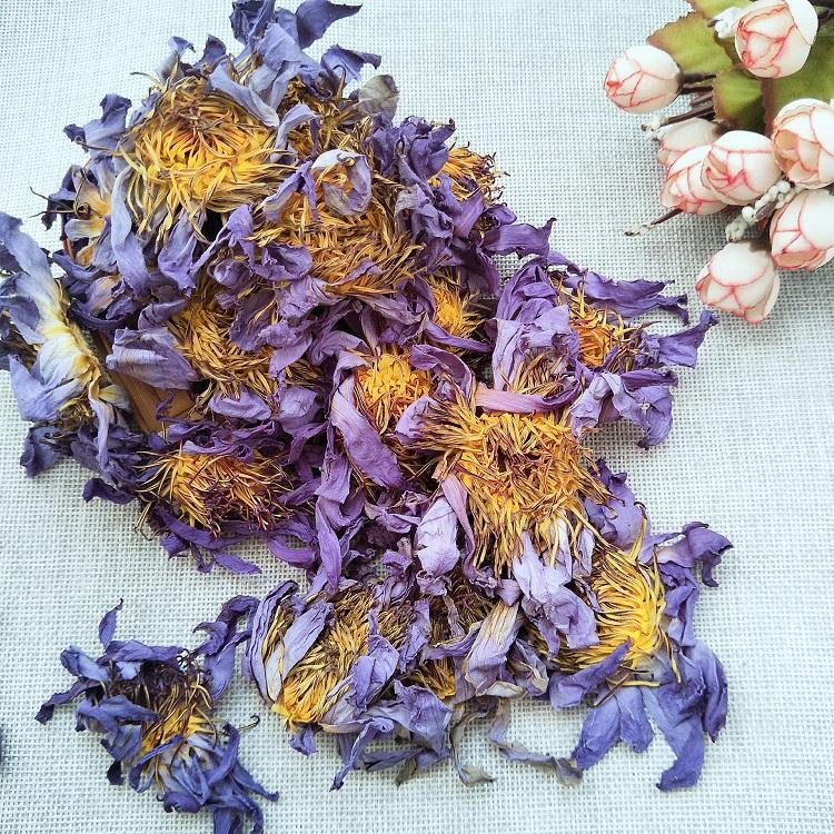 Lan lian hua bulk nature Chinese full blooming dried blue lotus flower tea - 4uTea | 4uTea.com