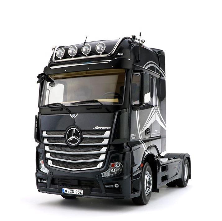 Литые игрушки от производителя 1:18 Ограниченная серия тяжелый контейнер грузовик модель головки