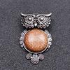 Vàng Bằng Đá Sa Thạch Owl