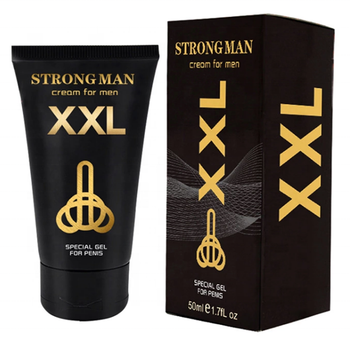 Hot sale strong man penis enlargement products increase XXL cream 50ml sex products for men