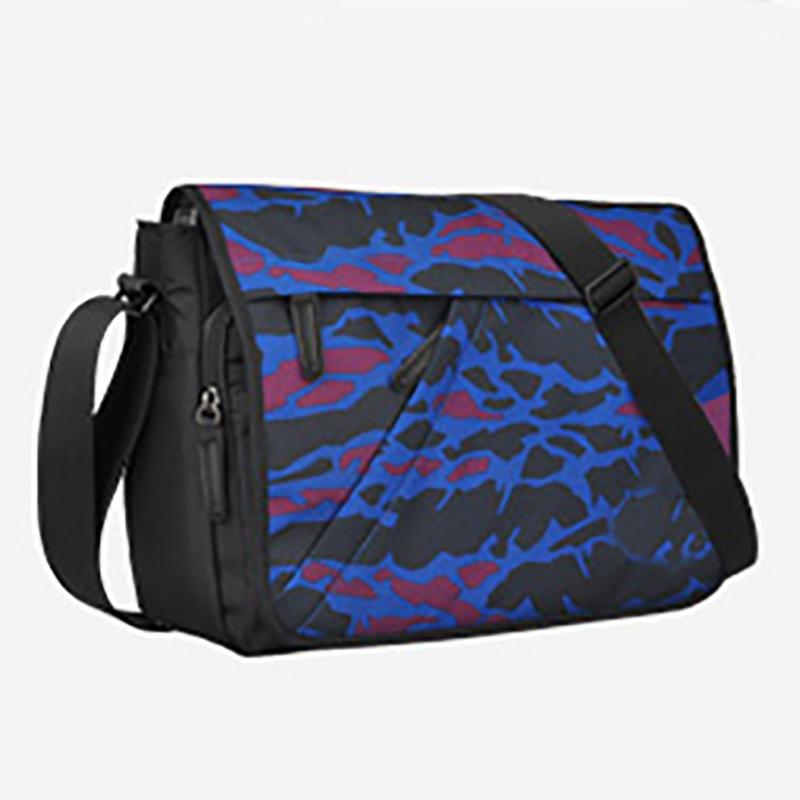 Custom logo waterproof Casual laptop Adjustable Shoulder Strap  Crossbody Messenger Bag