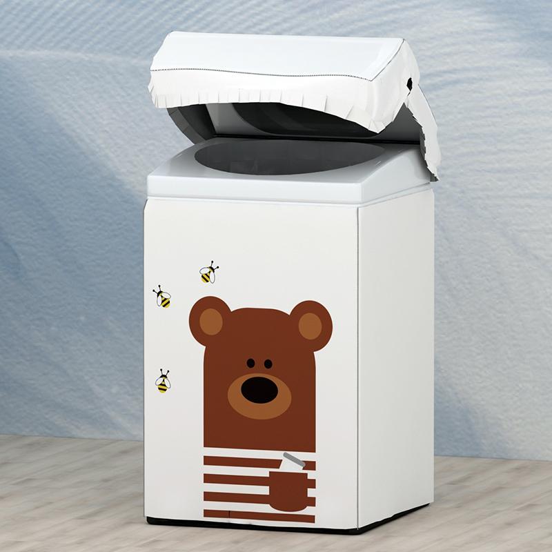 Низкий минимальный заказ от производителя мотора сушилка задняя нагрузка Водонепроницаемая портативная для Lg полотенце 6 кг хлопковая Серебристая Крышка для стиральной машины