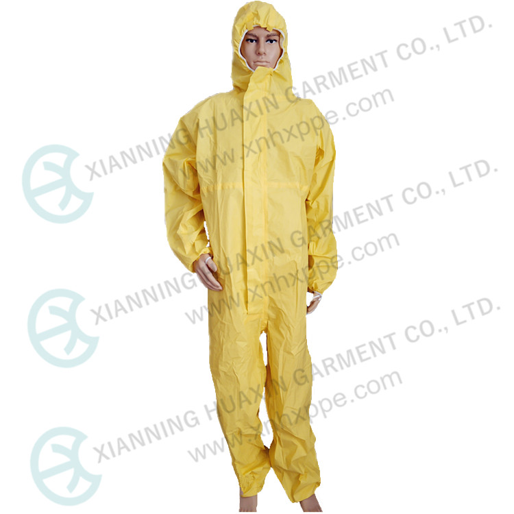 TYPE 3B 4B 5B 6B EN14126 Chemical Resistant Protection Overalls - KingCare | KingCare.net