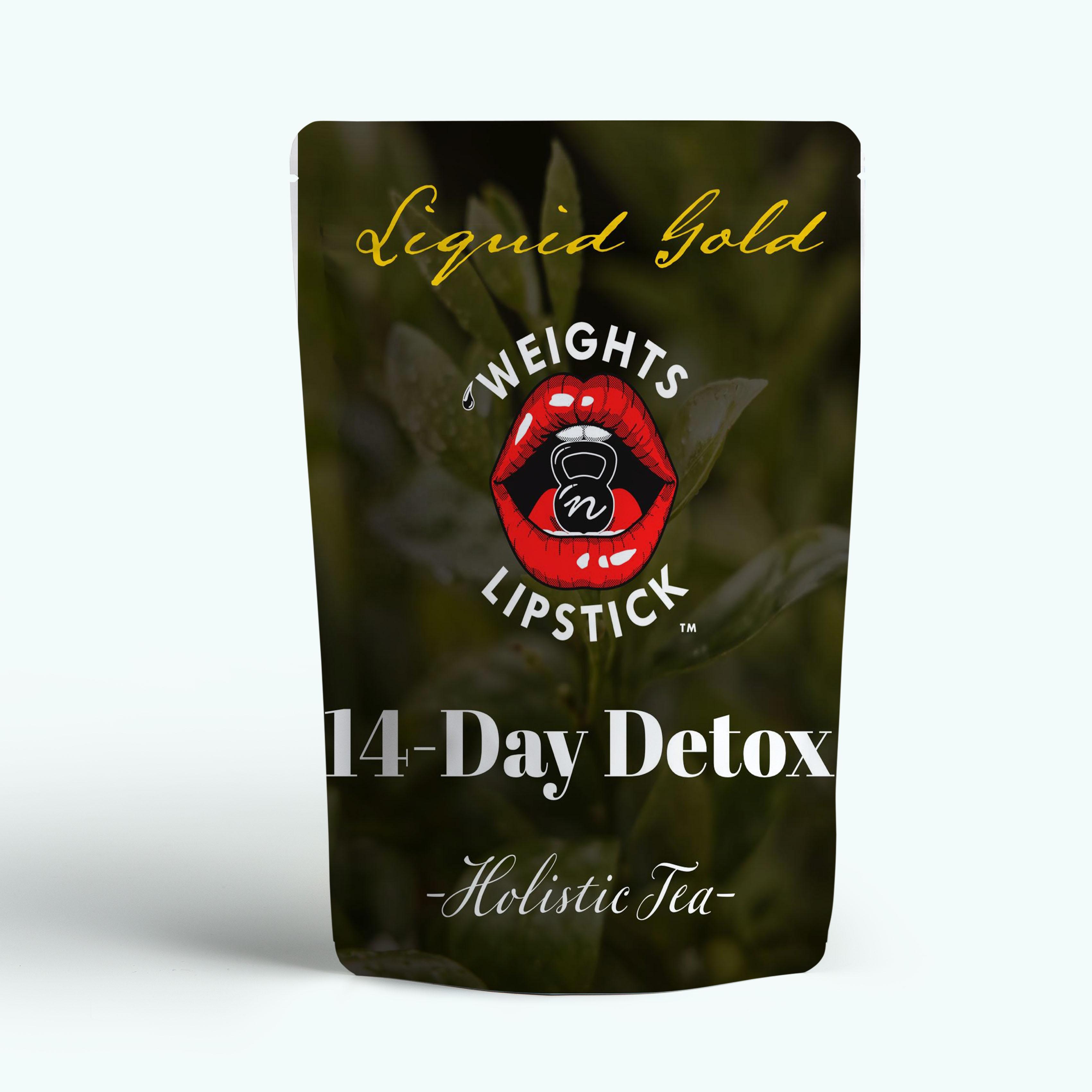 Baetea 14 Day Teatox Herbal Detox Tea Supplement with Green Tea & Ginger Root, 14 Tea Bags - 4uTea | 4uTea.com