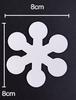 Snowflake 8cm (20pcs)