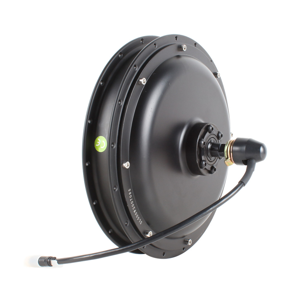 350W 500W 750W 1000W 36V 48V 60V Rear / Front Electric Bicycle Brushless Direct Hub Motor