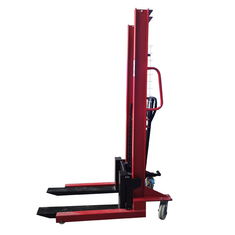 hand lift forklift manual stacker 3000kg 1500kg hydraulic hand stacker