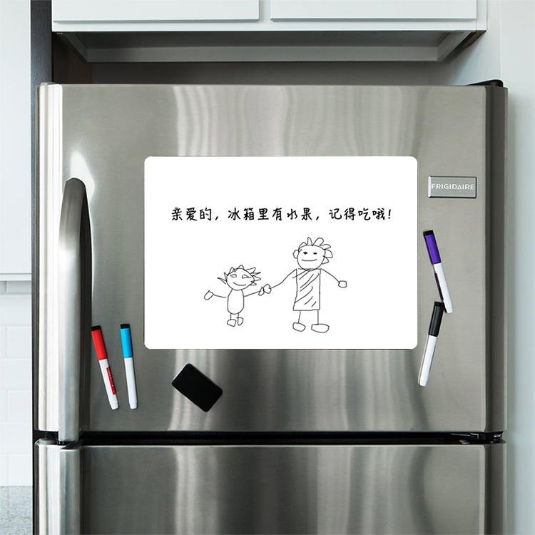 Hot Selling Magnetic Whiteboard Sheet Dry Erase Whiteboard Magnetic Message Board for Metal Surface
