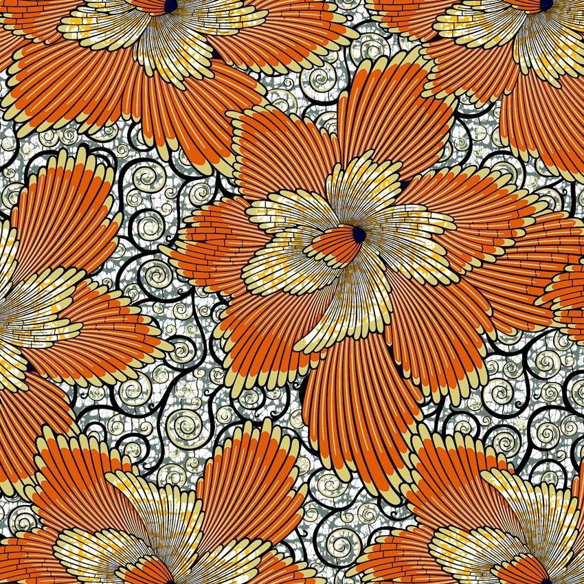 Factory supply Super golden wax fabrics African Ankara fabric 100%cotton