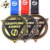 Grappling wrestling medal