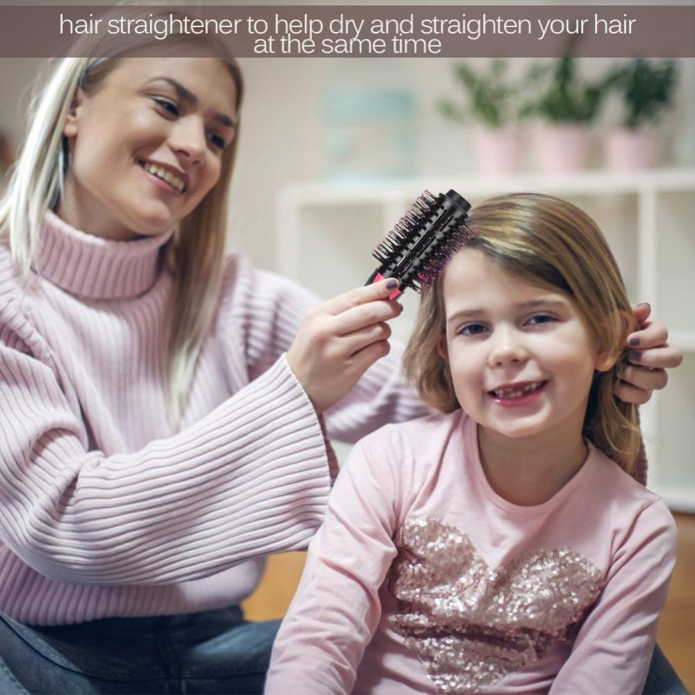 Bigsmile один шаг фен и вольюмайзер горячего воздуха для укладки волос щетка с генератором и вольюмайзер горячий воздух кисть