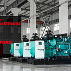 Generator Power With Cummins KTA19-G3A Rated 500KVA Generator 400KW Generator Soundproof 500KVA Power Plant 50HZ