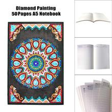 HUACAN алмазная живопись блокноты специальной формы Новые поступления дневник Алмазная вышивка распродажа А5 мозаичная картина подарок(Китай)
