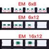 12x16mm emerald