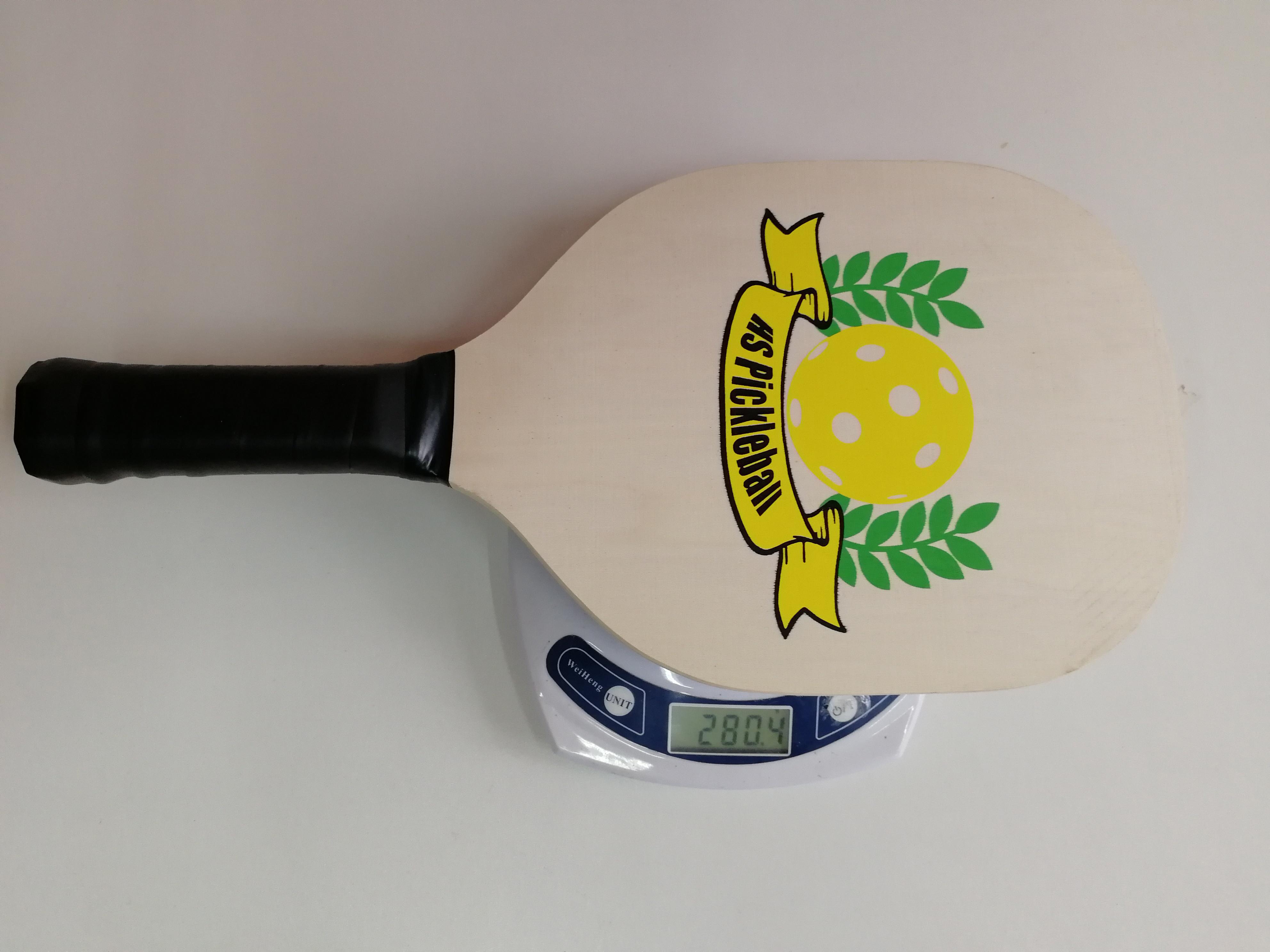 Деревянные лопатки для маринбола из кленового дерева, одобренные usкак, набор из 2 ракеток для маринбола и 4 мячей