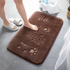 Mat Bath Bath Mat Rug Cheap Wholesale Embossing Door Bathroom Mat Memory Foam Waterproof Bath Rug Customized