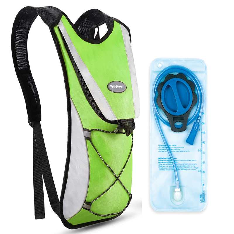 Running Cycling Hiking Climbing lightweight Water backpack hydration Vest pack with 2L Water Bladder