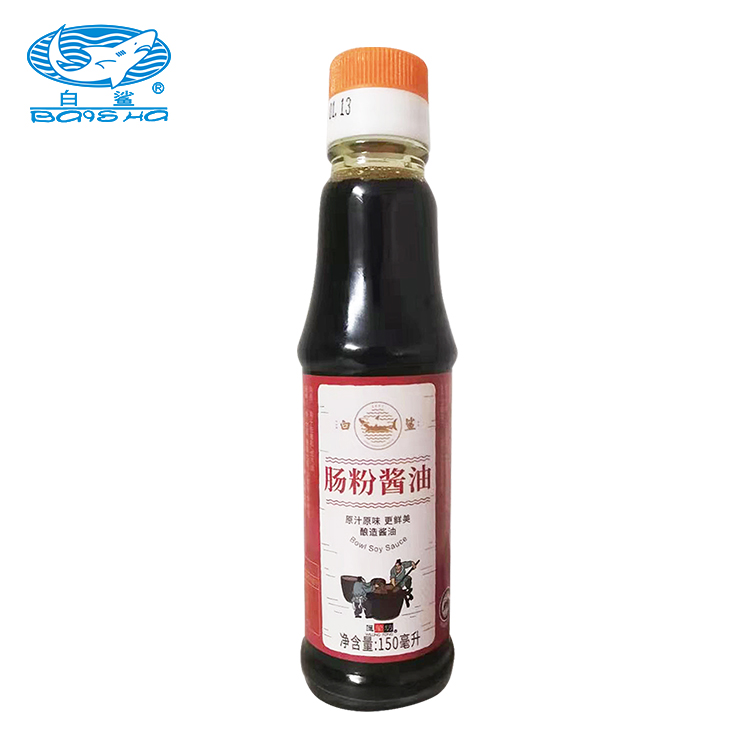 Baisha Rice Rolls Special Soy Sauce for Rice Rolls Concentrated Soy Sauce 150ml*24 Bottles Acceptable 50 % Purity from CN;GUA